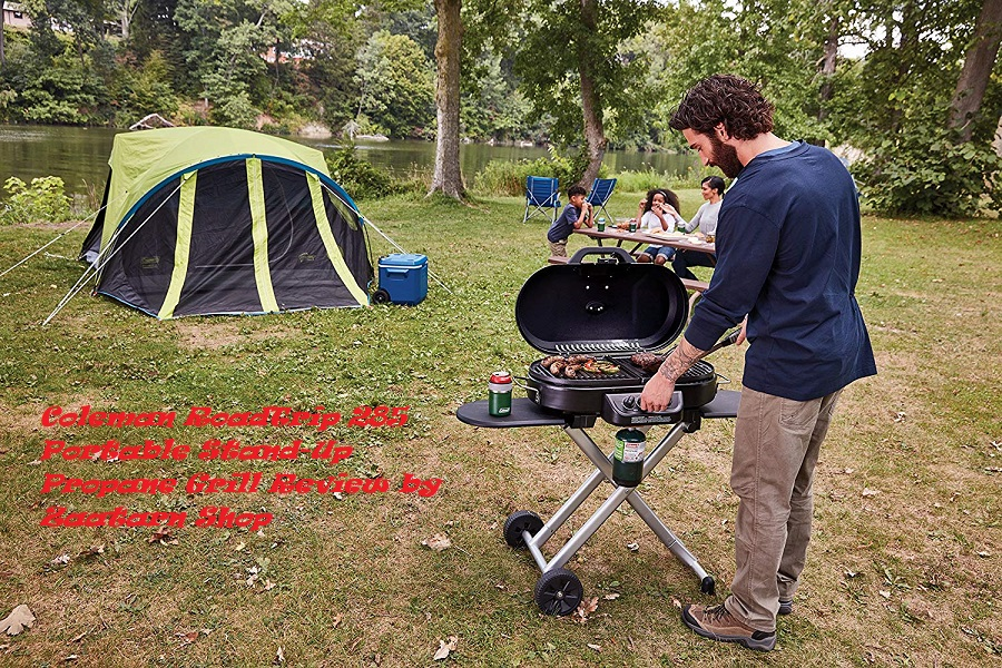 Coleman RoadTrip 285 Portable Stand-Up Propane Grill Review by Zaatarn Shop