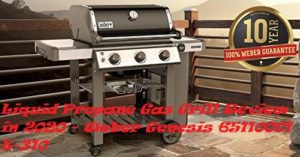 Liquid Propane Gas Grill Review in 2020 - Weber Genesis 65110001 E-310 by Zaatarnw Shop
