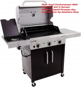 Char-Broil Performance TRU-Infrared 450 3-Burner Cabinet Liquid Propane Gas Grill Review by Zaatarn shop