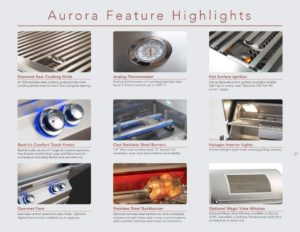 Fire Magic Aurora A540s 30-inch Natural Gas Grill Specification Review by Zaatarn Shop