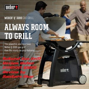 Weber 57067001 Q3200 Natural Gas Grill Review by Zaatarn Shop