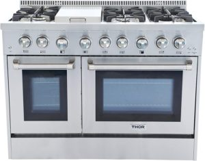 THOR KITCHEN HRD4803U 48″ DUAL-FUEL RANGE REVIEW BY ZAATARN SHOP