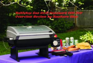 Tabletop Gas Grill Cuisinart CGG-200 Overview Review by Zaatar Shop