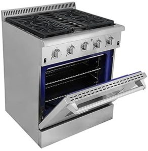 THOR KITCHEN HRG3080U GAS RANGE REVIEW