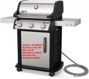 Weber 47502001 Spirit S-315 NG Gas Grill, Stainless Steel Review by Zaatarn Shop